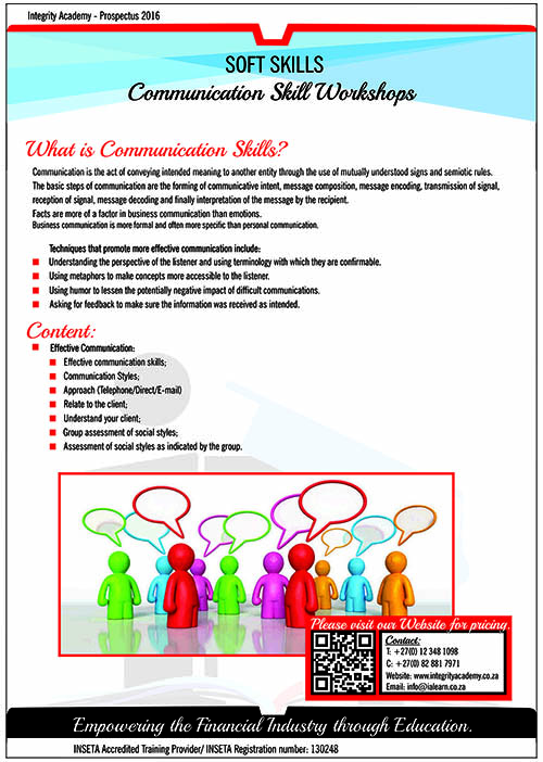 Communication Skill Workshops