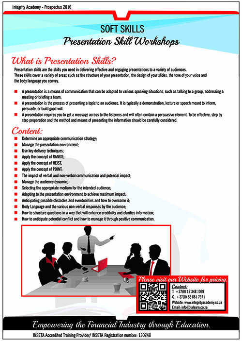 Presentation Skill Workshops