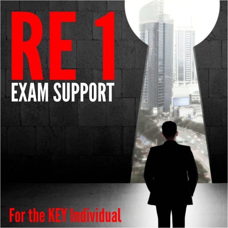RE1 Exam Support