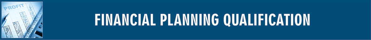 Financial Planning Qualification Banner