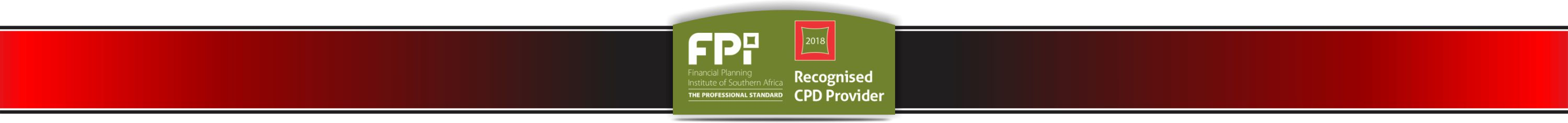 Recognised CDP provider banner red